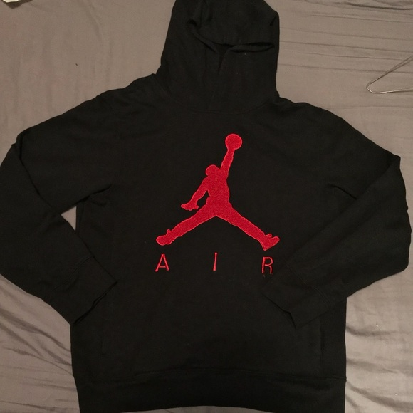Jordan Other - Black and red air jordan Hoodie d77be3708